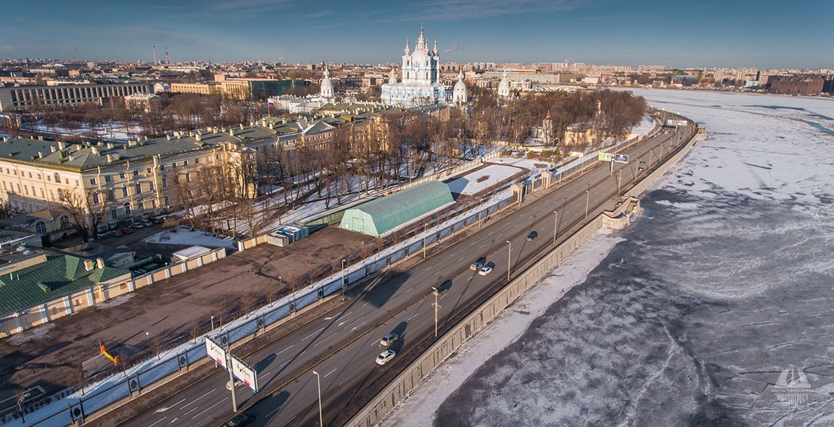 Smolnaya Embankment