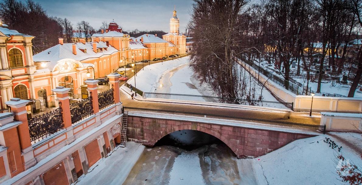 The 1st Lavrsky Bridge