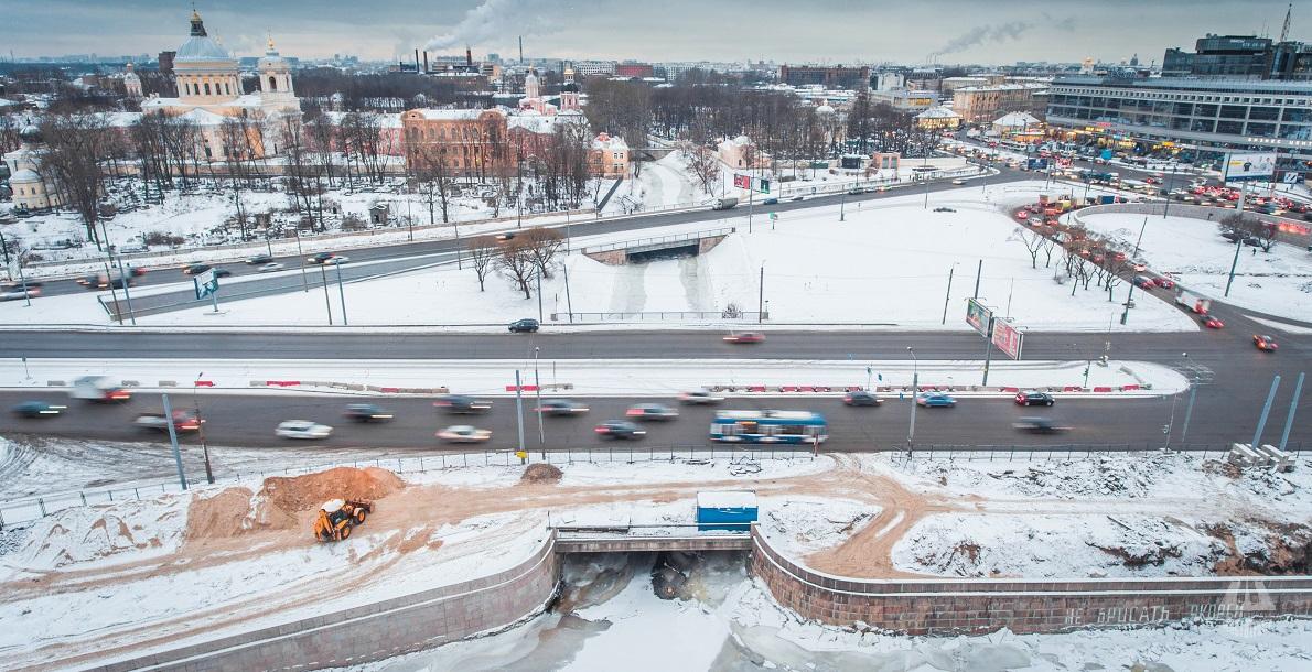 Obukhovskoy Oborony Bridge