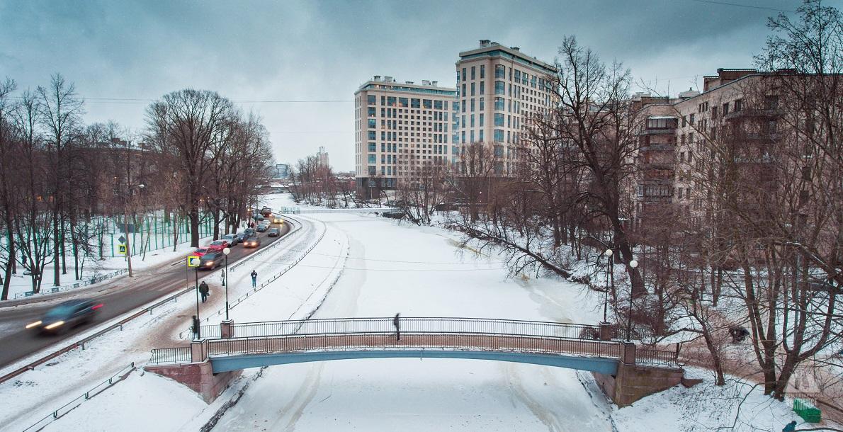 Stroganovsky (Grafovsky) Bridge