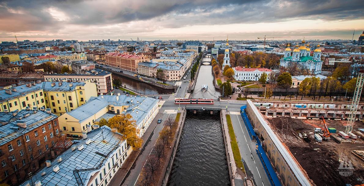 The Kryukov Canal Embankment