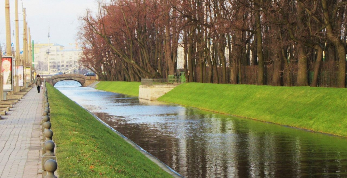 The Lebyazhy Canal Embankment