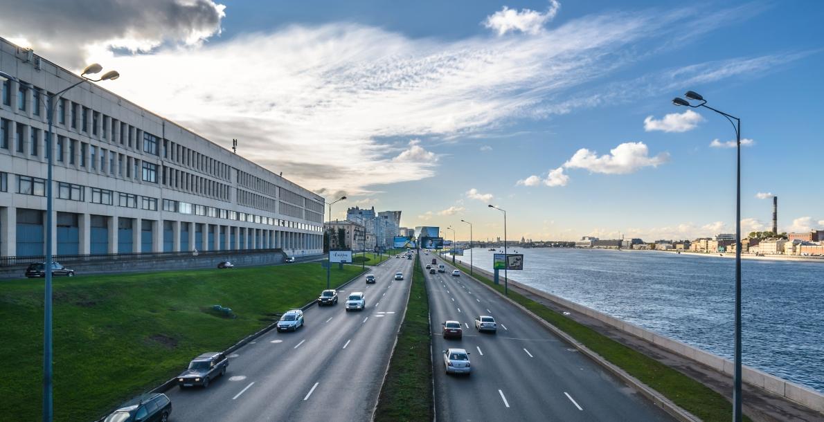 Malookhtinsky Prospect Embankment