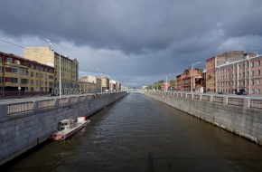 The Obvodny Canal Embankment