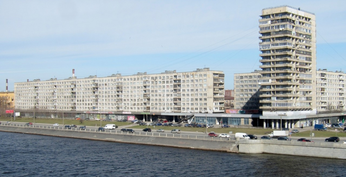 Oktyabrskaya Embankment