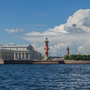 Embankment of the Spit of Vasilievsky Island