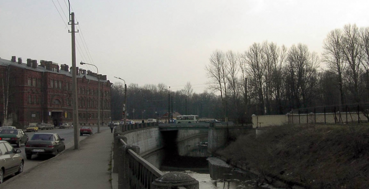 The Volkovka River Embankment